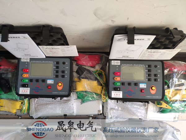 SG3010E和SG3001土壤電阻率測試儀的區別